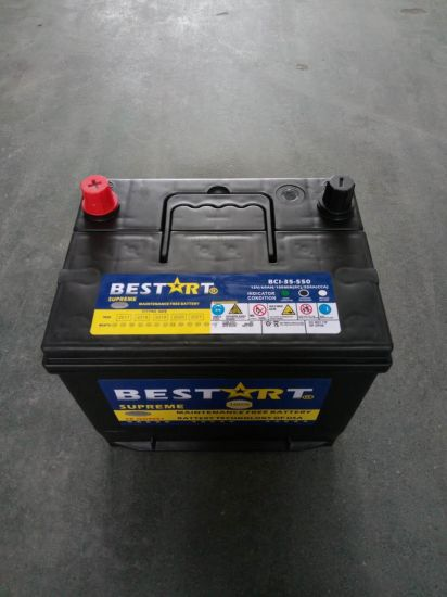 Electric Power Lead Acid 12V 60ah Bci-35 Mf Car Accumulator Battery pictures & photos