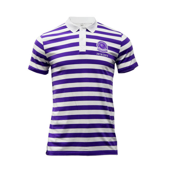 Fashion Embroidery Logo Polo Shirt Design Wholesale Leisure Men Clothing Custom Cotton Polo T Shirt pictures & photos