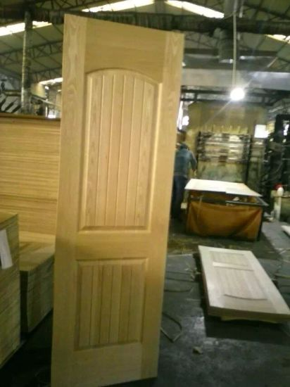 HDF/MDF Veneer/Melamine Mould Door Skin with Various Size