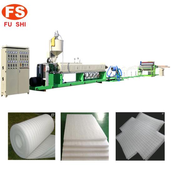Plastic EPE/PE Foam/Foamed/Foaming Sheet Pearl Cotton Extruder/Extrusion Machine