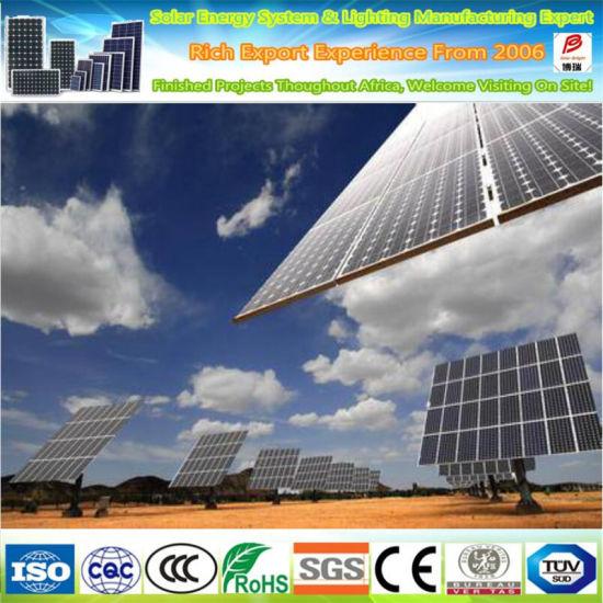 320W Monocrystalline Solar Panel for Remote Telecommunication Power Supply