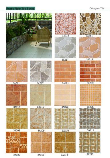 China Non Slip Rustic Ceramic Floor Tile (300X300 400X400) - China ...
