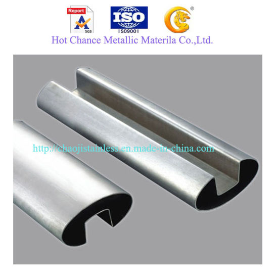 SUS304m316 Stainless Steel Slot Tube for Balcony Handrail pictures & photos