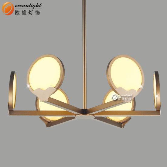 Hot Led Pendnat Lamps Decorative Coffee Golden For Home Hotel Om66153 Pictures