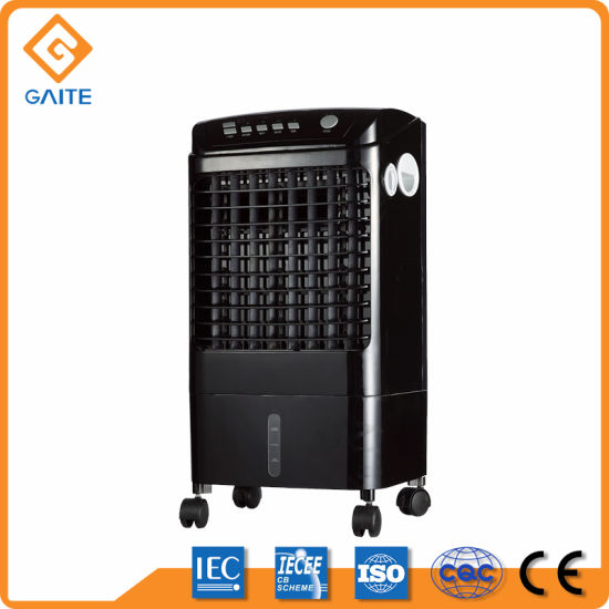 Big Capacity Pedestal Installation Plastic Body Summer Fan Water Cooler Air Cooler Lfs-702A pictures & photos