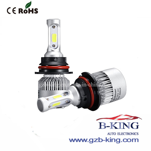 8000lm S2 COB 9007 High/Low Beam LED Bulb pictures & photos