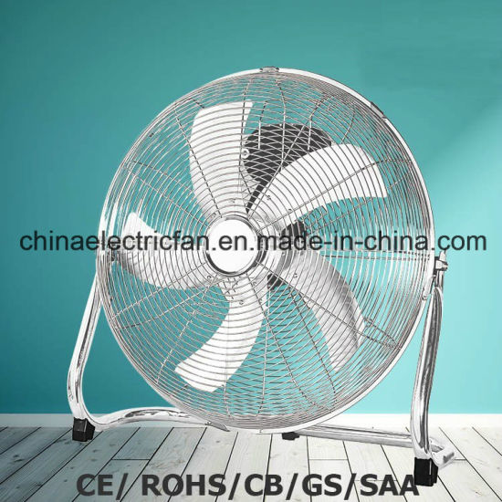 "18""Metal Floor Fan with Powerful Airflow GS/Ce/CB pictures & photos"