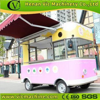 Custom designed Fast food trailer