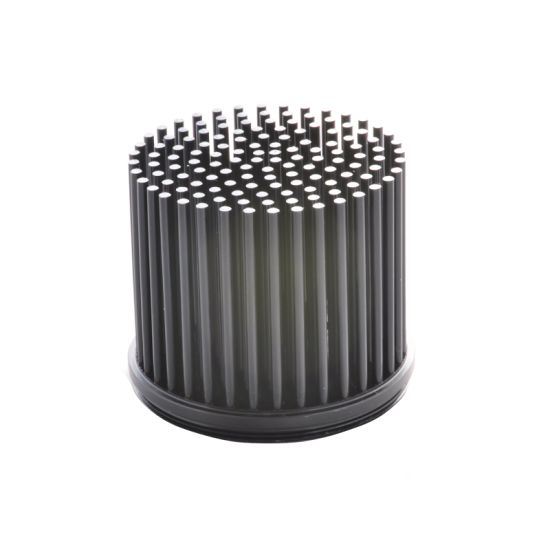High Precision Customized Cold Forging CNC Machined Heatsink Anodized Parts
