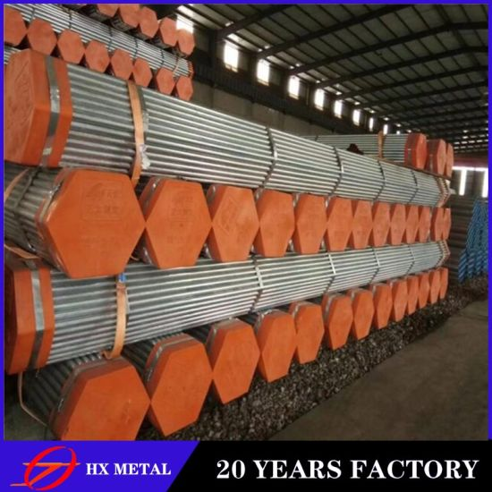 Cold Rolled Material /ASTM DIN JIS Standard /Hot Dipped Galvanized /Mild Steel Round Pipe for Structure