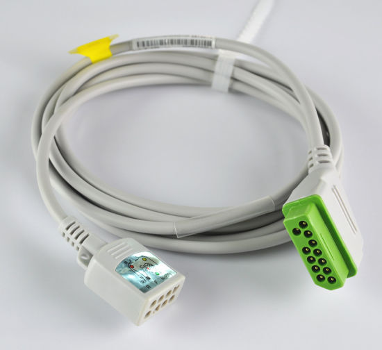 Nihon Kohden Jc-906p Cable Interface ECG Cable