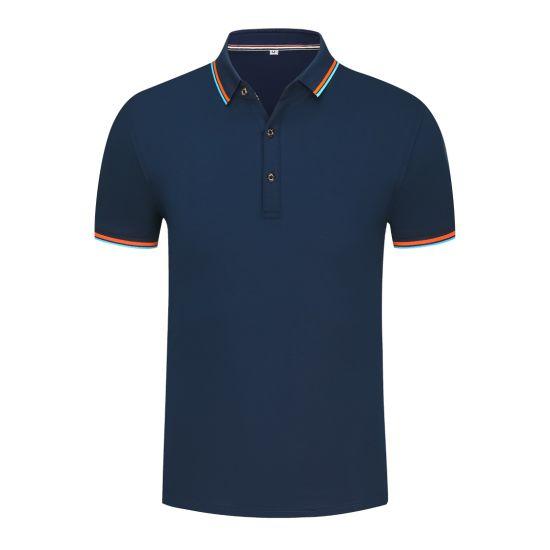 Customized Unisex Lapel Short Sleeve Leisure Blank Sports Polo Shirts