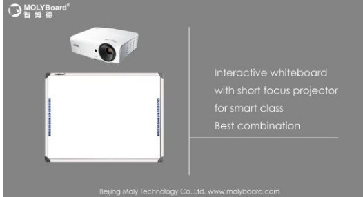 Optical Interactive Whiteboard with 2 Points for Study