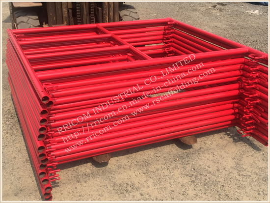 Wholesale H Frame Scaffolding Parts, Ladder/H and Door Frame Scaffolding, Scaffold Ladder Type pictures & photos