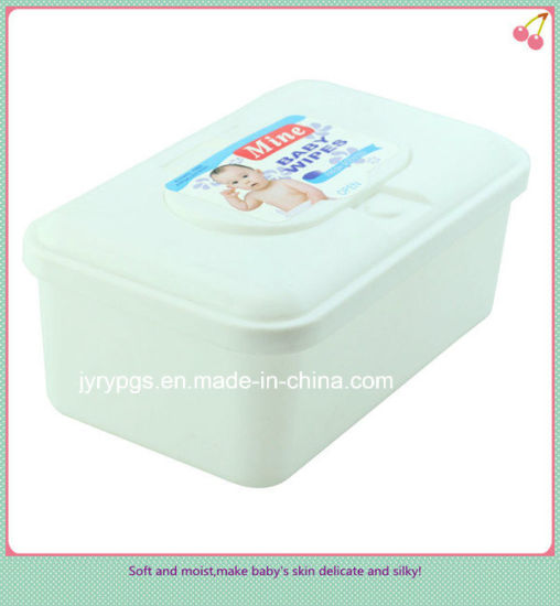 High Quality Plastic Box Packed Wet Wipes
