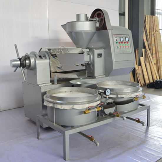 Automatic Multifunctional Oil Press with Vacuum Filters (6YL-105A-3) pictures & photos