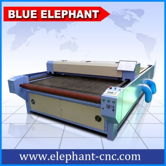 Cheap CO2 Automatic CNC Laser Cutting Machine, Fabric Laser Cutting Machine for Sale pictures & photos