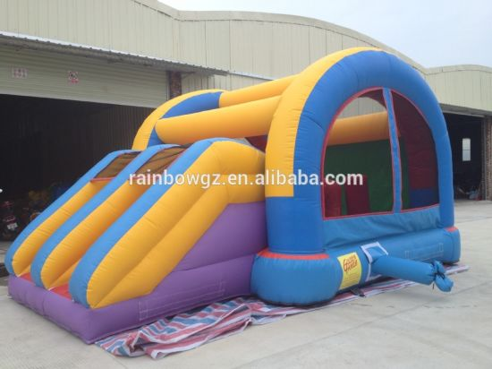 Good Quality Commercial Inflatable Mini Bouncer with Slide for Kids pictures & photos