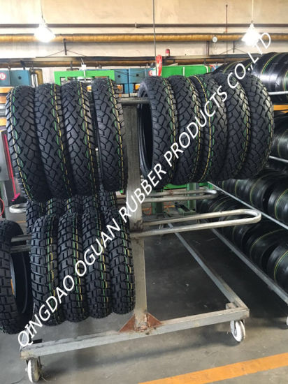 High Quality Anti Slip Explosion-Proof Motorcycle Tyre pictures & photos