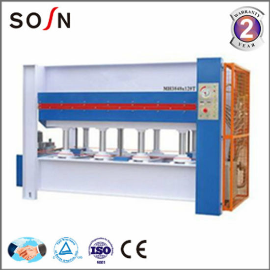 Sosn 120 Ton 3 Layers Hot Press Machine