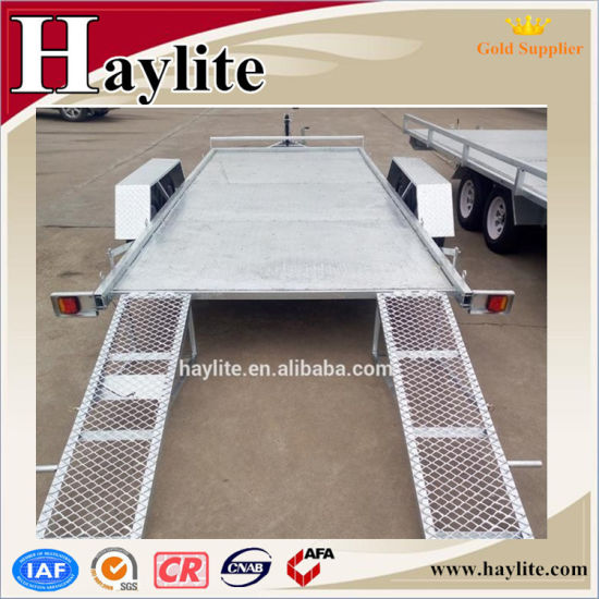 Heavy Duty Tandem Axle Car Carrying Trailer Car Loader Trailer OEM Factory Direct Supply