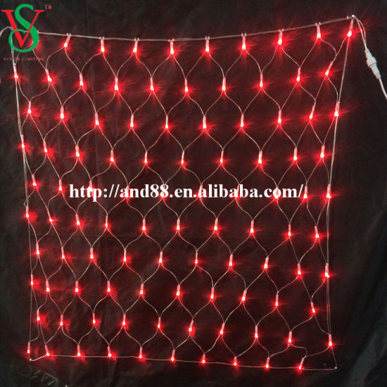 Colorful LED Net Lights for Christmas Decorations pictures & photos