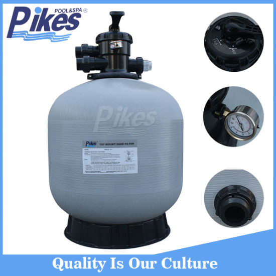 Swimming Pool Top Mount Sand Filter with Sand Media