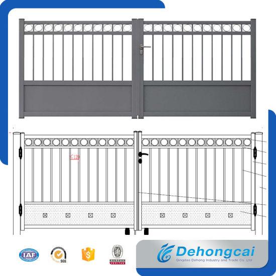 Chinia Villa Architectural Aluminum / Metal / Wrought Iron Garden Security  Gate