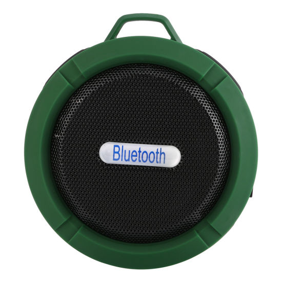 Outdoor Portable TF Card Music Playing Ipx5 Waterproof Subwoofer Sucker Wireless Bt Outdoor Speakers