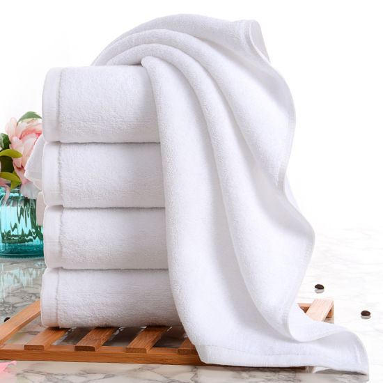 High Quality Luxury Exquisite Embroidery Dobby Terry Hand Bath Face Towel