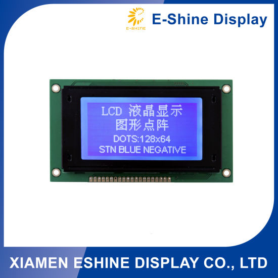 Stn 128X64 LCD Display custom electronic LCD for Electronic Components