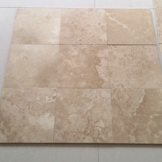 Hot Selling Cream Limestone Swimming Pool Tiles with Good ...