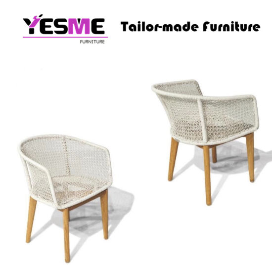 Brilliant China Outdoor Dining Set Wicker Teak Wood Dining Chair Round Cjindustries Chair Design For Home Cjindustriesco