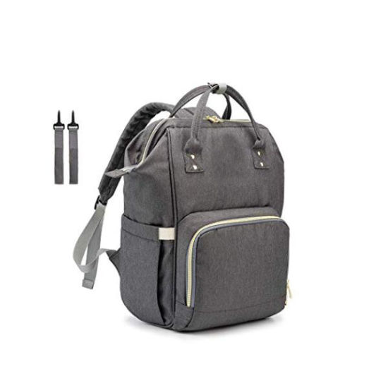 Diaper Bag Backpack Multi-Function Waterproof Baby Backpack Diaper Bag (Grey) pictures & photos