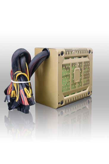 ATX-As500W Astro 500W ATX Power Supply with Auto-Thermally Controlled 120mm Fan, 115/230V Switch, All Protections