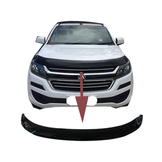 Ycsunz Bonnet Guard Engine Cover Trim Black Au for Colorado 2017