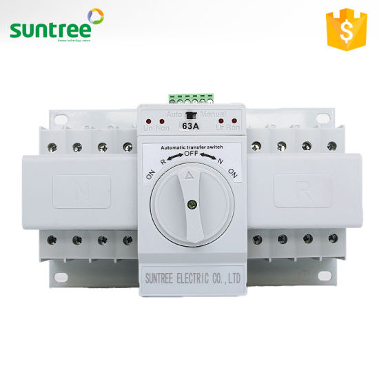 China Sq3 Generator Automatic Transfer Switch ATS Electric