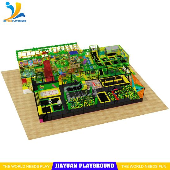 Indoor Commercial Extreme Trampoline Park for Children Playground