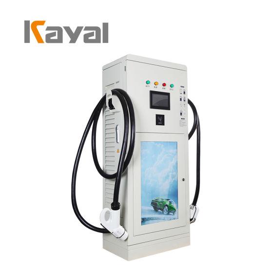 Kayal 40kw Double Gun Electric Vehicle Charging Station