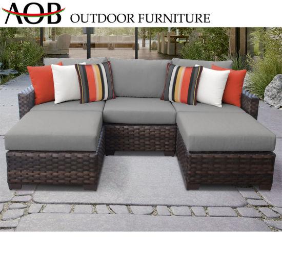 Super China Stackable Outdoor Garden Patio Dining Sofa Sets Rattan Inzonedesignstudio Interior Chair Design Inzonedesignstudiocom
