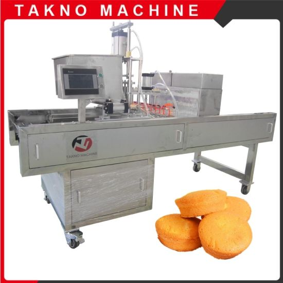 Factory Newest Promoted Full Automatic Cake Machine for Small Business pictures & photos