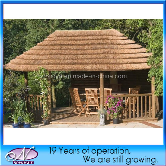 Hot Sale Decorative Plastic Synthetic Roofing Thatch Tiles