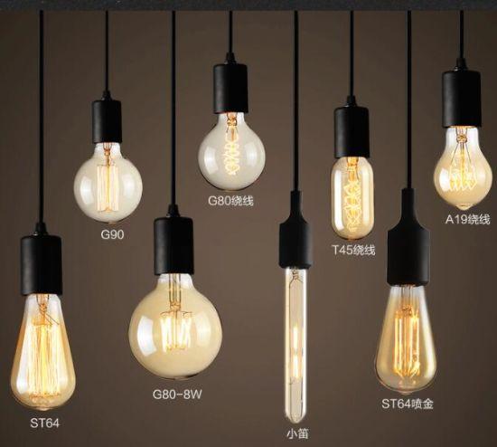 40W Vintage Edison Bulb, E27 Retro Light Lamp Incandescent Bulb