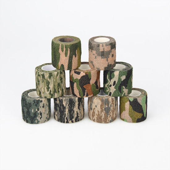 Outdoor Woodland Hunting Bionic Camouflage Adhesivetape pictures & photos