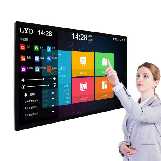 Industrial Front IP65 and Vandal-Proof 42 43 49 55 Inch Pcap Touch Screen Open Frame LCD Display Monitor for Vending Machines