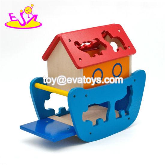 New Hottest Cute Wooden Noahs Ark Animals For Children W12d085