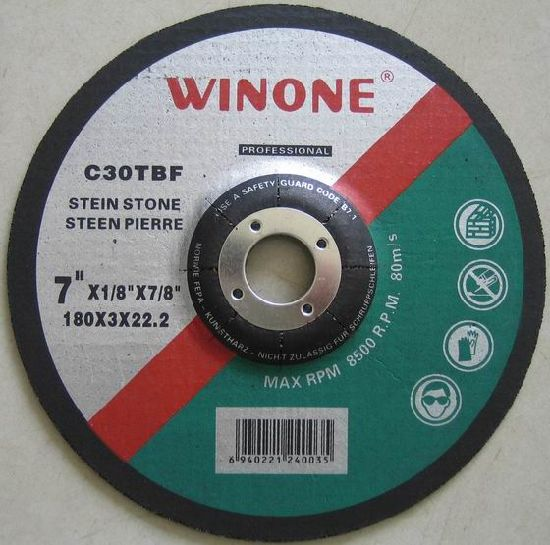 Depressed Center Abrasive Stone Glass Cut off Wheel (R42C)