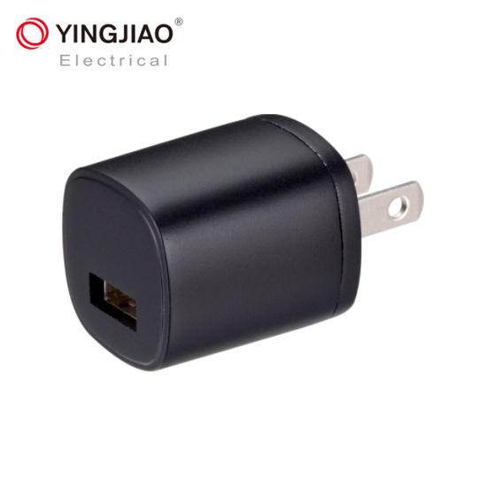 Yingjiao High Quality 5V 0.5A 300mA 1A USB Charger AC/DC Adapter