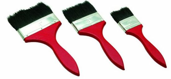 Bristles Wooden Handle Paint Brush Roller Brush Painting Brush
