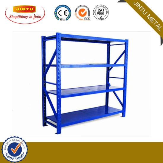 Warehouse Medium Duty Steel Storage Pallet Shelving Rack